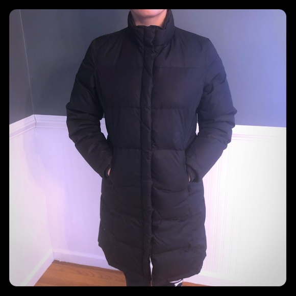fd791763f96a GAP Jackets & Blazers - Gap Womens Long Black Down Puffer Bubble Coat